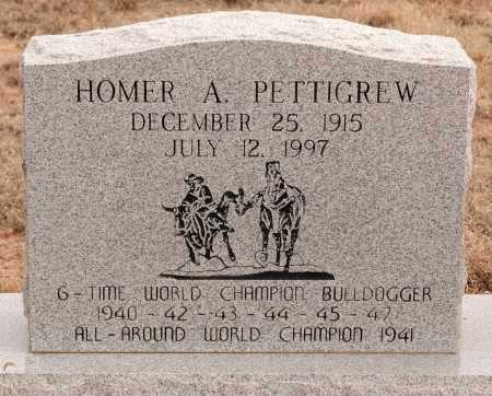 PETTIGREW, HOMER A. - Curry County, New Mexico | HOMER A. PETTIGREW - New Mexico Gravestone Photos