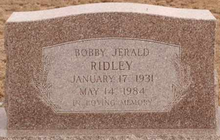 RIDLEY, BOBBY JERALD - Curry County, New Mexico | BOBBY JERALD RIDLEY - New Mexico Gravestone Photos