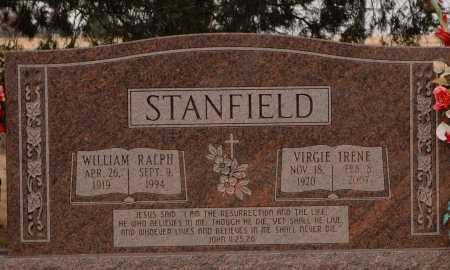 STANFIELD, WILLIAM RALPH - Curry County, New Mexico | WILLIAM RALPH STANFIELD - New Mexico Gravestone Photos