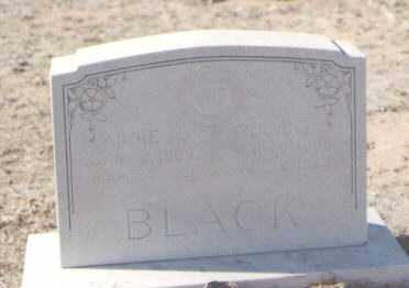 BLACK, ADDIE A. - DeBaca County, New Mexico | ADDIE A. BLACK - New Mexico Gravestone Photos