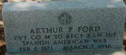 FORD, ARTHUR F. - DeBaca County, New Mexico | ARTHUR F. FORD - New Mexico Gravestone Photos