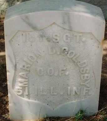 GOLDSBY, MARION D. - DeBaca County, New Mexico | MARION D. GOLDSBY - New Mexico Gravestone Photos