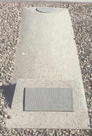 RICKMAN, NATHAN A. - DeBaca County, New Mexico   NATHAN A. RICKMAN - New Mexico Gravestone Photos