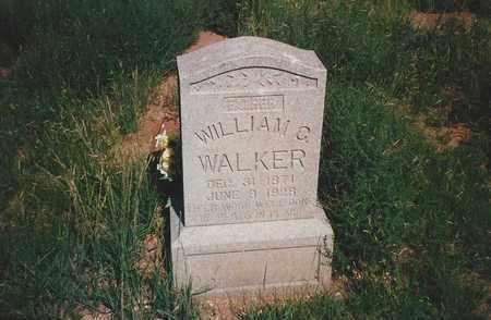 WALKER, WILLIAM C. - DeBaca County, New Mexico | WILLIAM C. WALKER - New Mexico Gravestone Photos