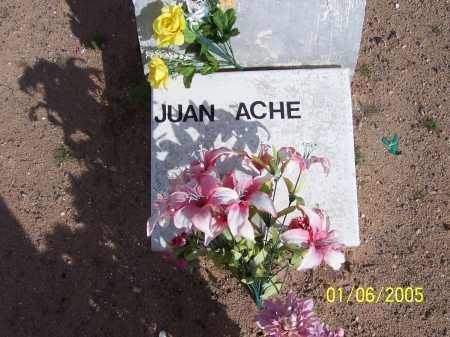 ACHE, JUAN - Dona Ana County, New Mexico | JUAN ACHE - New Mexico Gravestone Photos