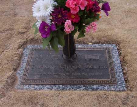 CHAVEZ ACOSTA, ENEDINO - Dona Ana County, New Mexico | ENEDINO CHAVEZ ACOSTA - New Mexico Gravestone Photos