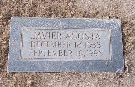ACOSTA, JAVIER - Dona Ana County, New Mexico | JAVIER ACOSTA - New Mexico Gravestone Photos