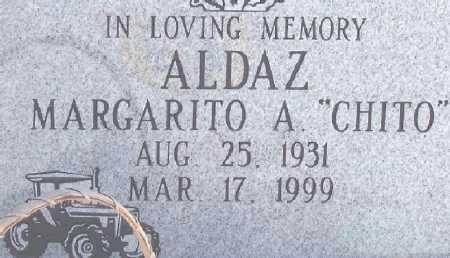 ALDAZ, MARGARITO A. - Dona Ana County, New Mexico | MARGARITO A. ALDAZ - New Mexico Gravestone Photos
