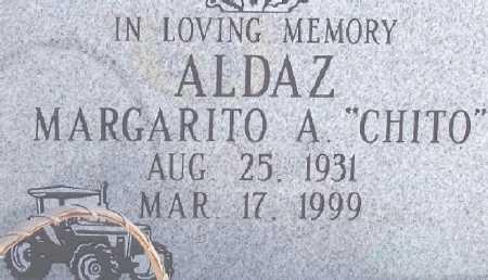 ALDAZ, MARGARITO A. - Dona Ana County, New Mexico | MARGARITO A. ALDAZ - New Mexico Gravestone Photos