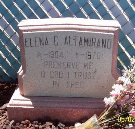 ALTAMIRANO, ELENA C. - Dona Ana County, New Mexico | ELENA C. ALTAMIRANO - New Mexico Gravestone Photos