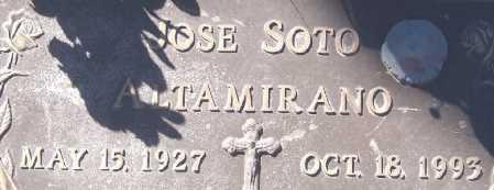 SOTO ALTAMIRANO, JOSE - Dona Ana County, New Mexico   JOSE SOTO ALTAMIRANO - New Mexico Gravestone Photos