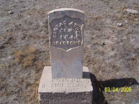 AUBEL, CONRAD - Dona Ana County, New Mexico | CONRAD AUBEL - New Mexico Gravestone Photos