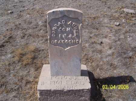 AUBEL, CONRAD - Dona Ana County, New Mexico | CONRAD AUBEL - New Mexico Gravestone Photos