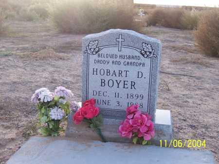 BOYER, HOBART D. - Dona Ana County, New Mexico   HOBART D. BOYER - New Mexico Gravestone Photos