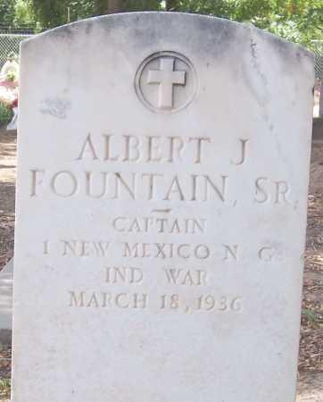 FOUNTAIN, ALBERT J. CPT. - Dona Ana County, New Mexico   ALBERT J. CPT. FOUNTAIN - New Mexico Gravestone Photos