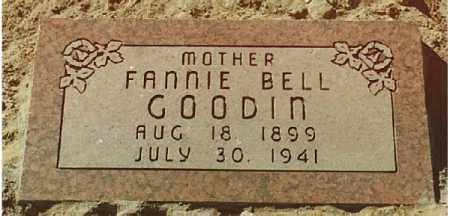 GOODIN, FANNIE - Dona Ana County, New Mexico | FANNIE GOODIN - New Mexico Gravestone Photos