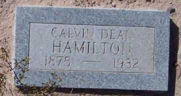 HAMILTON, CALVIN DEAN - Dona Ana County, New Mexico | CALVIN DEAN HAMILTON - New Mexico Gravestone Photos