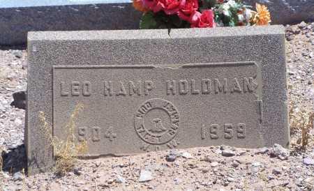 HOLDMAN, LEO HAMP - Dona Ana County, New Mexico | LEO HAMP HOLDMAN - New Mexico Gravestone Photos