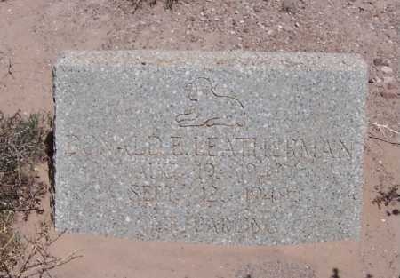 LETTERMAN, DONALD E. - Dona Ana County, New Mexico   DONALD E. LETTERMAN - New Mexico Gravestone Photos