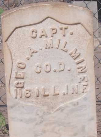 MILMINE, GEORGE A. - Dona Ana County, New Mexico | GEORGE A. MILMINE - New Mexico Gravestone Photos