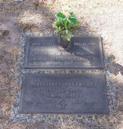 STANLEY, MARSHALL L. - Dona Ana County, New Mexico | MARSHALL L. STANLEY - New Mexico Gravestone Photos