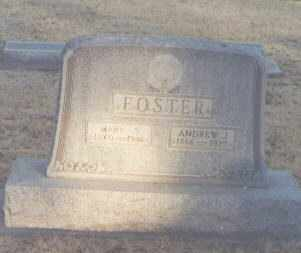 FOSTER, ANDREW J - Eddy County, New Mexico | ANDREW J FOSTER - New Mexico Gravestone Photos
