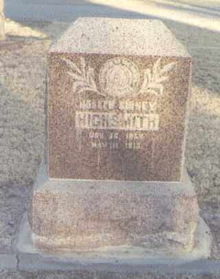 HIGHSMITH, JOSEPH SIDNEY - Eddy County, New Mexico | JOSEPH SIDNEY HIGHSMITH - New Mexico Gravestone Photos