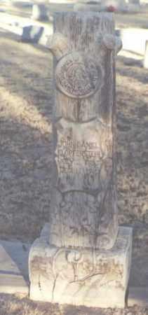 KLOPFENSTEIN, JOHN DANIEL - Eddy County, New Mexico | JOHN DANIEL KLOPFENSTEIN - New Mexico Gravestone Photos