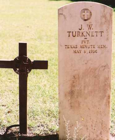 TURKNETT, J. W. - Eddy County, New Mexico | J. W. TURKNETT - New Mexico Gravestone Photos