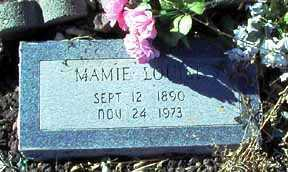 ALLEN, MAMIE LOUISE - Grant County, New Mexico | MAMIE LOUISE ALLEN - New Mexico Gravestone Photos