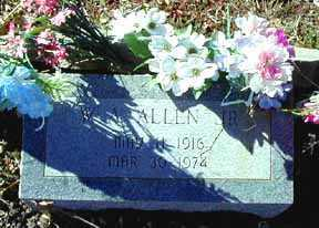 ALLEN, W A, JR - Grant County, New Mexico   W A, JR ALLEN - New Mexico Gravestone Photos