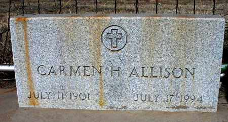 ALLISON, CARMEN H. - Grant County, New Mexico | CARMEN H. ALLISON - New Mexico Gravestone Photos