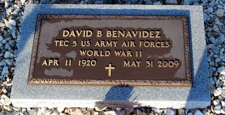 BENAVIDEZ, DAVID B. - Grant County, New Mexico | DAVID B. BENAVIDEZ - New Mexico Gravestone Photos