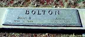 BOLTON, JULIUS B - Grant County, New Mexico | JULIUS B BOLTON - New Mexico Gravestone Photos