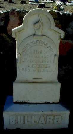 BULLARD, JOHN M - Grant County, New Mexico   JOHN M BULLARD - New Mexico Gravestone Photos