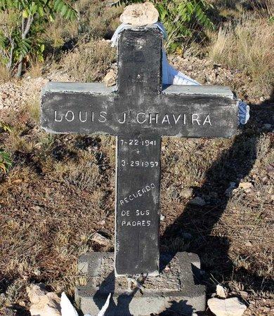 CHAVIRA, LOUIS J. - Grant County, New Mexico   LOUIS J. CHAVIRA - New Mexico Gravestone Photos