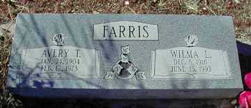 FARRIS, AVERY T - Grant County, New Mexico | AVERY T FARRIS - New Mexico Gravestone Photos