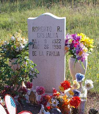 GRIJALVA, ROBERTO R - Grant County, New Mexico | ROBERTO R GRIJALVA - New Mexico Gravestone Photos