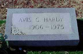 HARDY, AVIS G - Grant County, New Mexico | AVIS G HARDY - New Mexico Gravestone Photos