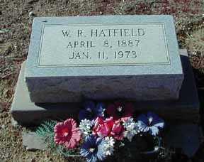 HATFIELD, W. R. - Grant County, New Mexico   W. R. HATFIELD - New Mexico Gravestone Photos