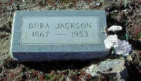JACKSON, DORA - Grant County, New Mexico   DORA JACKSON - New Mexico Gravestone Photos