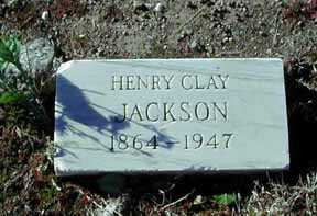JACKSON, HNERY CLAY - Grant County, New Mexico | HNERY CLAY JACKSON - New Mexico Gravestone Photos