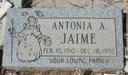 JAIME, ANTONIA A. - Grant County, New Mexico | ANTONIA A. JAIME - New Mexico Gravestone Photos
