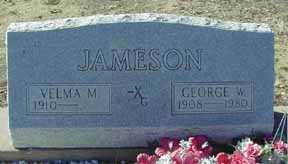 JAMESON, VELMA M - Grant County, New Mexico | VELMA M JAMESON - New Mexico Gravestone Photos