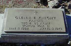 KNIGHT, GLENN E - Grant County, New Mexico   GLENN E KNIGHT - New Mexico Gravestone Photos