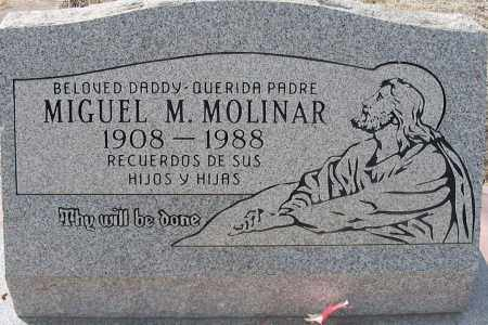 MOLINAR, MIGUEL - Grant County, New Mexico | MIGUEL MOLINAR - New Mexico Gravestone Photos