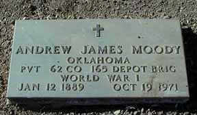 MOODY, ANDREW JAMES - Grant County, New Mexico | ANDREW JAMES MOODY - New Mexico Gravestone Photos
