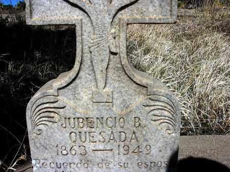 QUESADA, JUBENCIO B. - Grant County, New Mexico | JUBENCIO B. QUESADA - New Mexico Gravestone Photos
