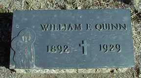 QUINN, WILLIAM F - Grant County, New Mexico   WILLIAM F QUINN - New Mexico Gravestone Photos