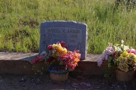 RASCON, MANUEL R - Grant County, New Mexico | MANUEL R RASCON - New Mexico Gravestone Photos